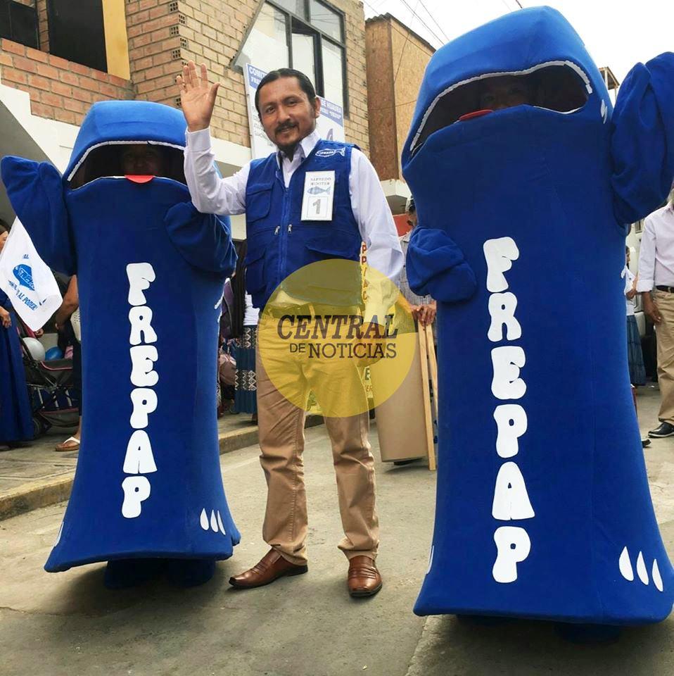 ALFREDO BENITES AGURTO de las filas de FREPAP, virtual Congresista de la República por Lima Provincias.